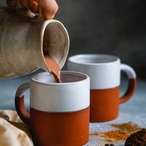 Homemade Gingerbread Hot Chocolate