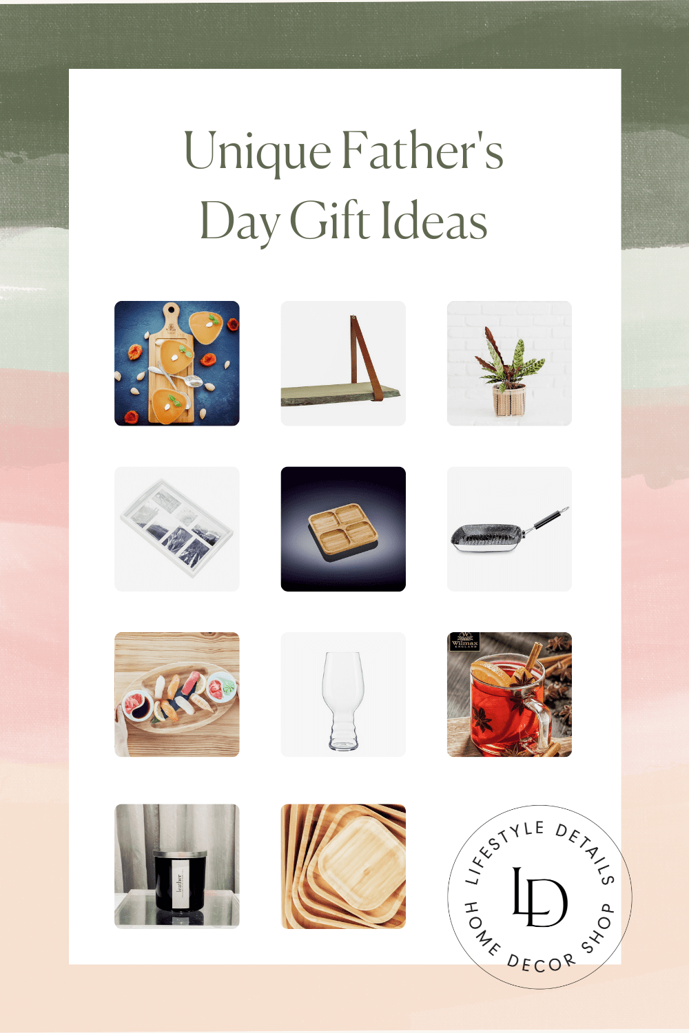 Father's Day Gift Guide Lifestyle Details