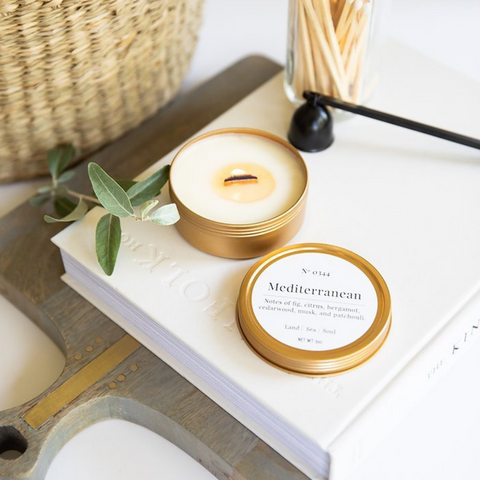 Mediterranean Travel Candle