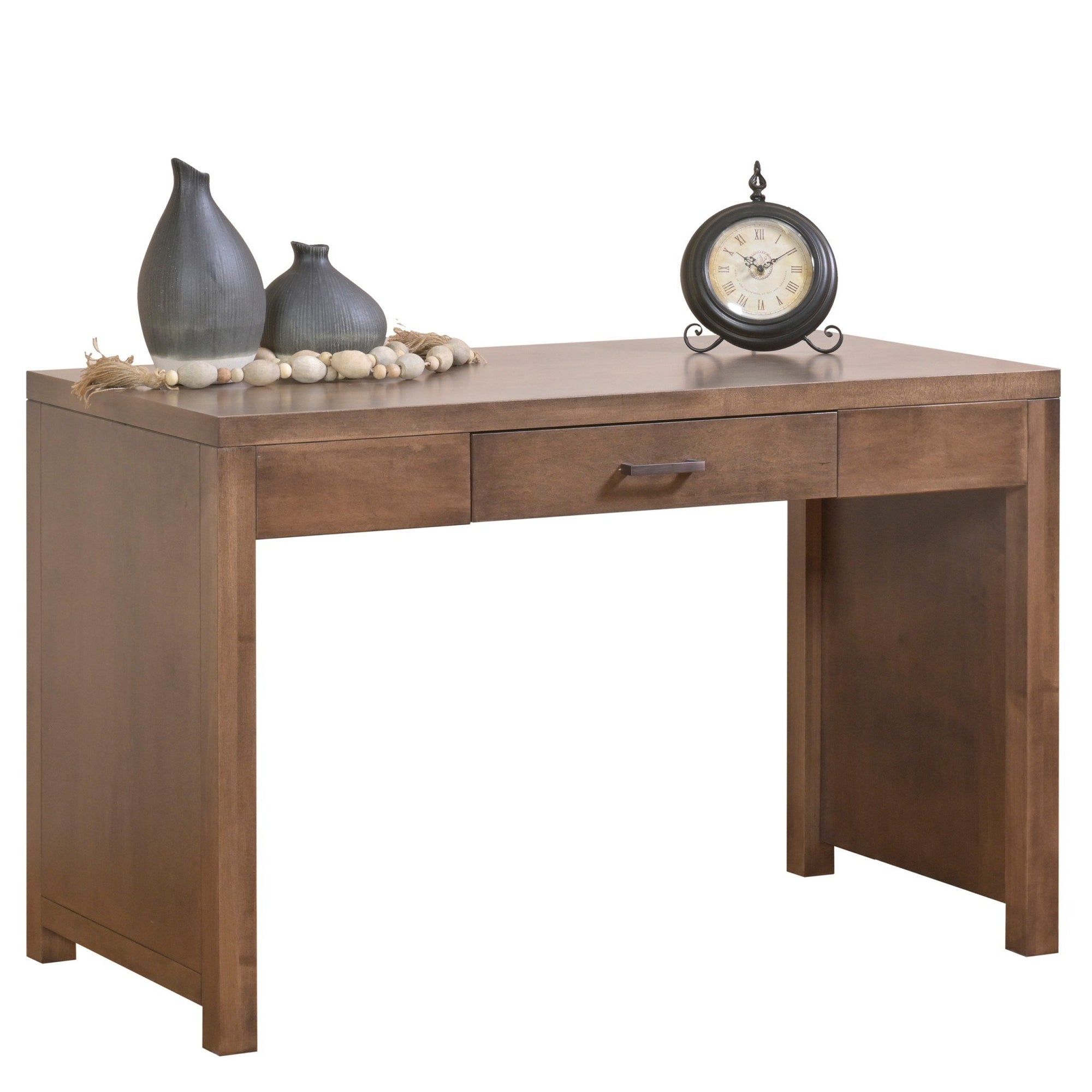 "48"" X 24"" X 30.5"" Cappuccino Wood Writing Desk"