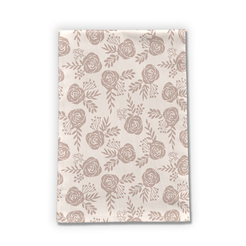 Pastel Floral Tea Towel