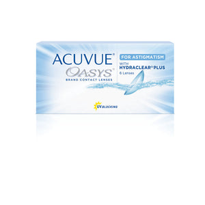 Acuvue - Oasys for Astigmatism with Hydraclear Plus  - Bi-Weekly