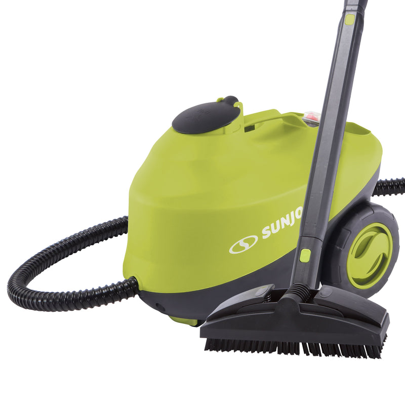 Sun Joe STM30E Heavy Duty Steamer | 212-Degree Steam Blast at 50-PSI | 35-Second Rapid Heating | On-Demand Continuous Fill Technology | Chemical-Free Cleaning | Kills and Sanitizes Germs, Works on BBQs, Cars, Hard Surfaces, Windows and More