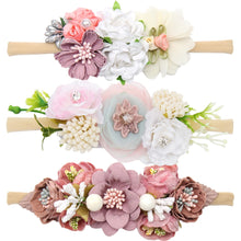 Load image into Gallery viewer, Floral Headbands