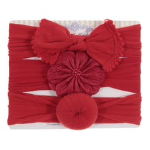 Load image into Gallery viewer, 3 piece Bow Headbands