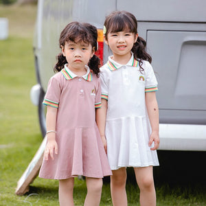 Rainbow Polo Dress