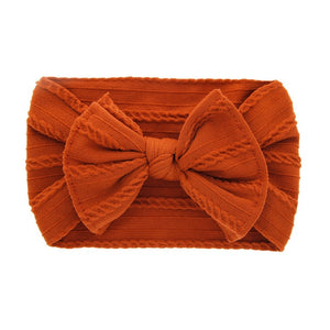 Baby Big Bow Soft Nylon Headband