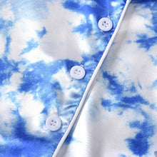 Load image into Gallery viewer, Tie-Dyed satin Pyjamas
