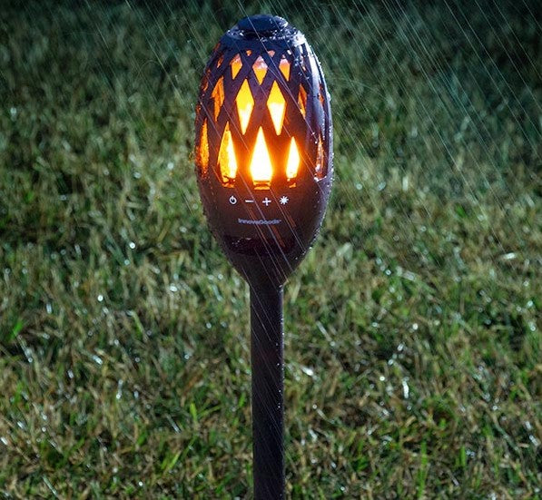 LED Flame Lamp & Bluetooth Speaker
