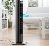 Tower Fan 80 CM 50W SVART