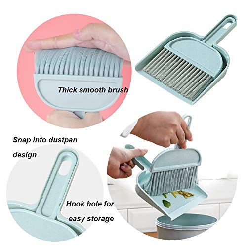 Multi-Functional Cleaning Tool with Hand Broom Brush
