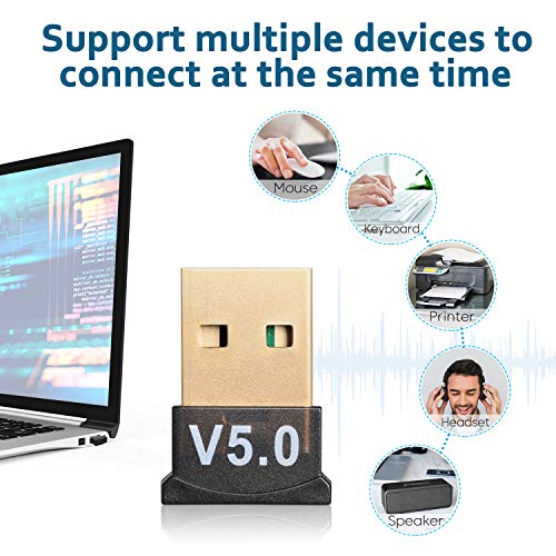 Bluetooth USB 5.0 Adapter