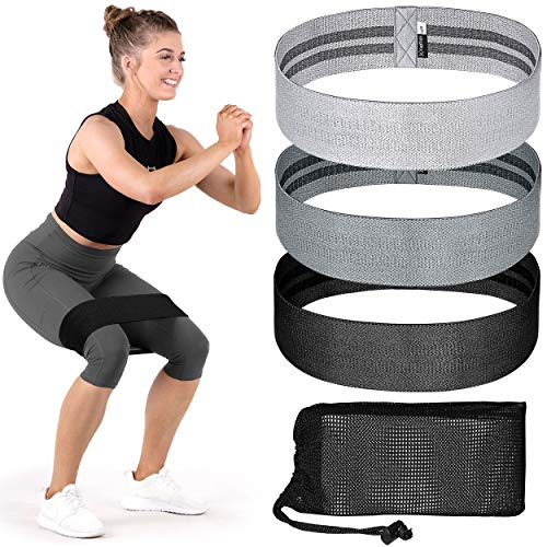 Resistance Bands for Legs and Butt ( set of 3 )