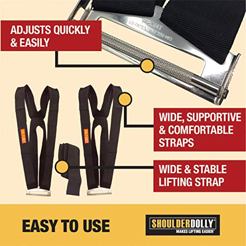 Shoulder Dolly Moving Straps ( A pair of two )