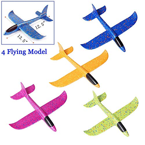 Gliders Foam Airplane Toy ( 4 Pieces )