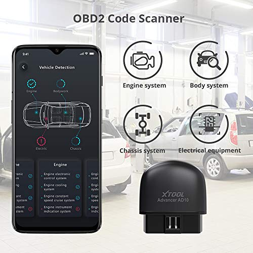 XTOOL Bluetooth OBD2 Code Scanner
