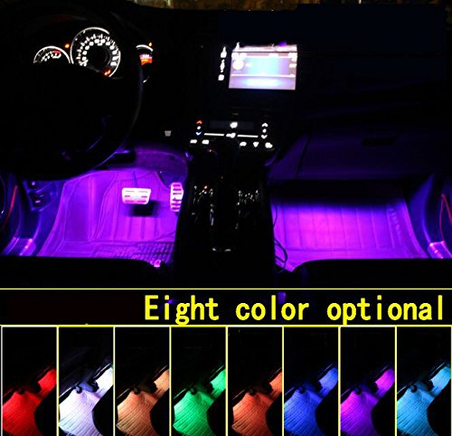 Car LED Strip Light, 12V Multicolor 48 LEDS