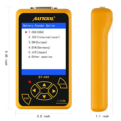 AUTOOL Automotive Battery Load Tester