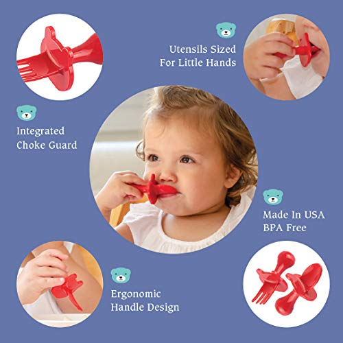 Mini Baby Spoon and Fork Training Set