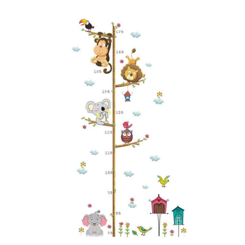 Cartoon Animals Wall Sticker For Kids