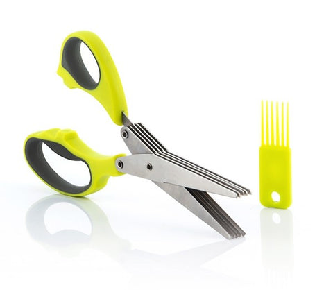 Multi-Blade 5 in 1 Scissors