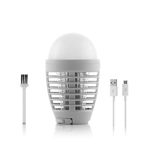 2 IN 1 Rechargeable Mosquito Repellent Lamp
