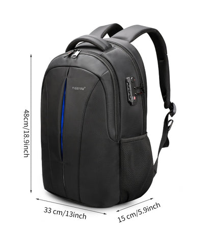 Anti Theft Men Backpack