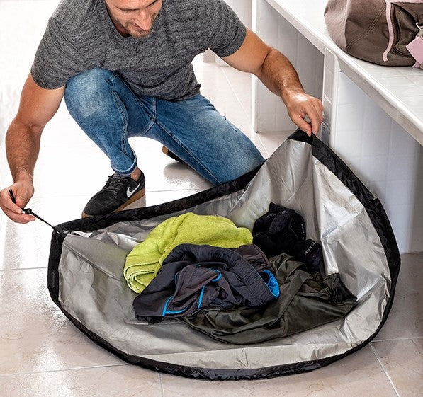 2 in 1  Waterproof Gymbag