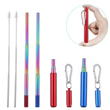 Stainless Steel Telescopic Straw