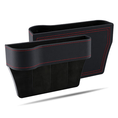 Leather Seat Console Organizer