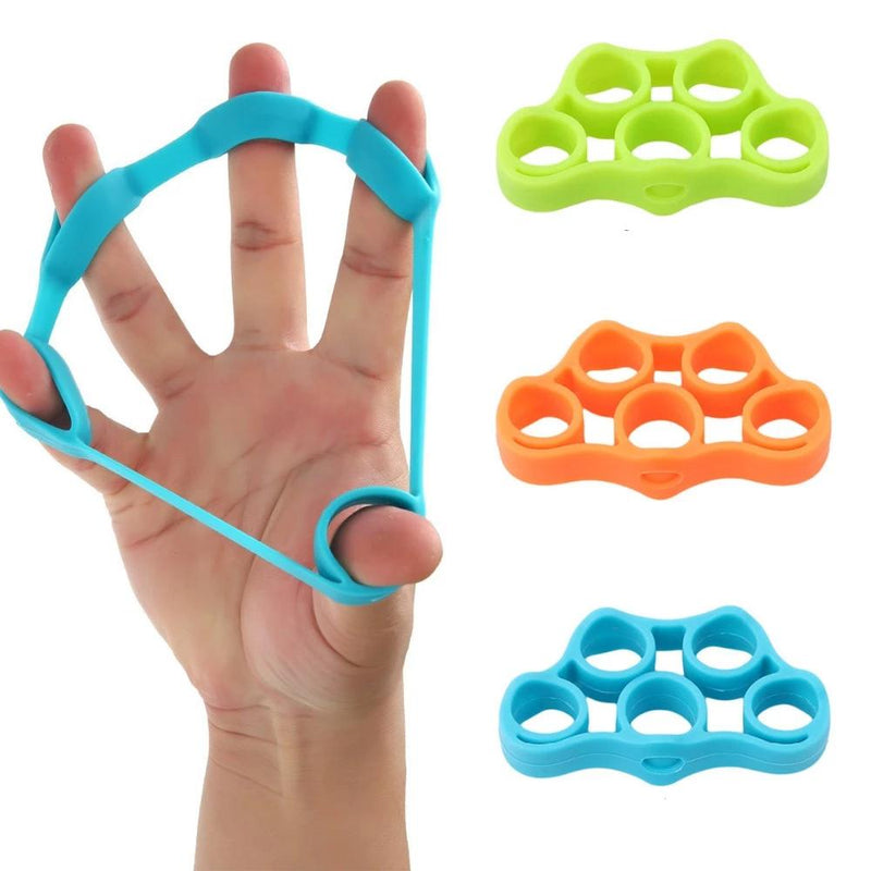 Elastic Resistance Band for Fingers