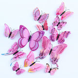 Multicolor Double Layer Wings