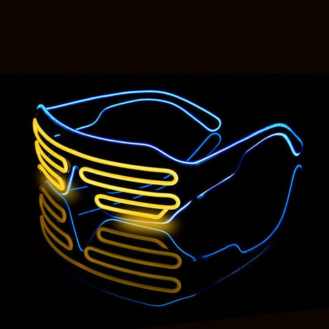 Neon LED Luminous  Glasses