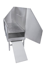 Amerisink-48-Stand-Alone-Stainless-Steel-Dog-Bath-Stations-AS388
