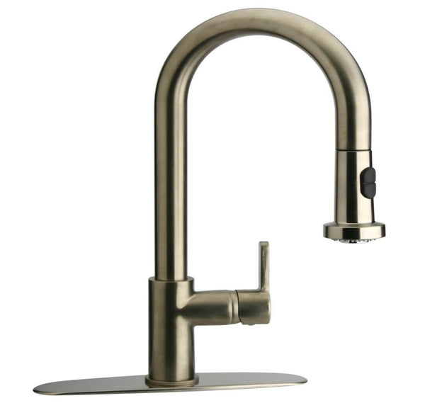 LaToscana-faucet-Single-handle-pull-down-spray-kitchen-09CR591B