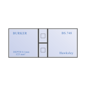 Burker Haemocytometer Counting Chamber Hemocytometer Set | Hawksley