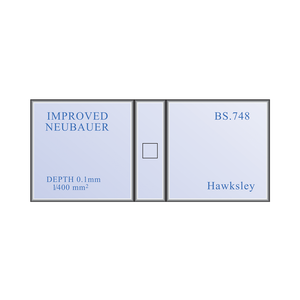 Neubauer Improved Haemocytometer Hemocytometer Counting Chamber Set | Hawksley