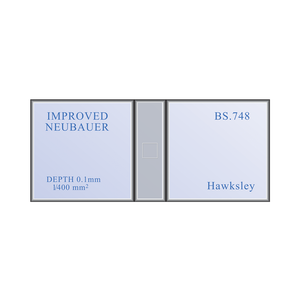 Neubauer Improved Haemacytometer Counting Chamber Hemocytometer | Hawksley