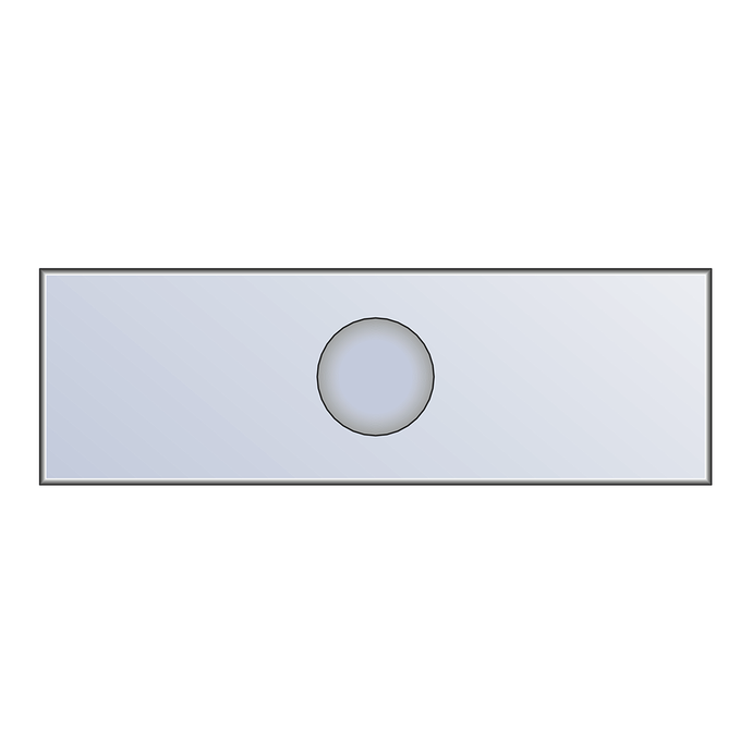 Single Depression Microscope Slide | Hawksley