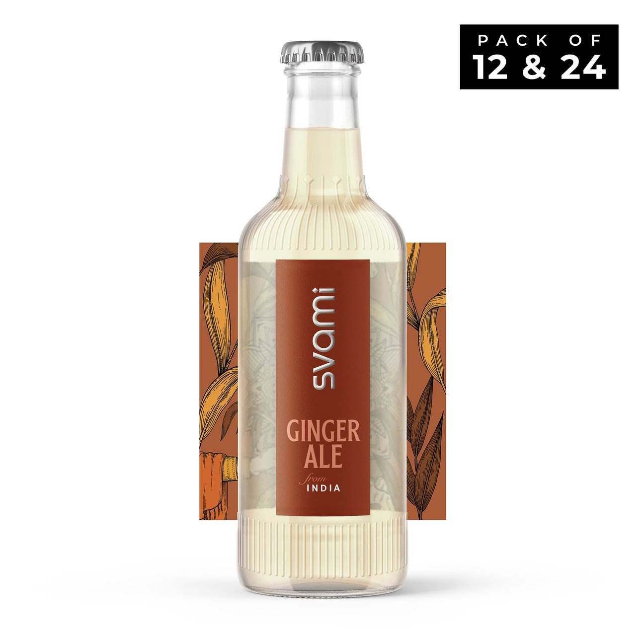 CRED Svami Experience Kit - Assorted Svami Ginger Ale & Svami Original Tonic Water