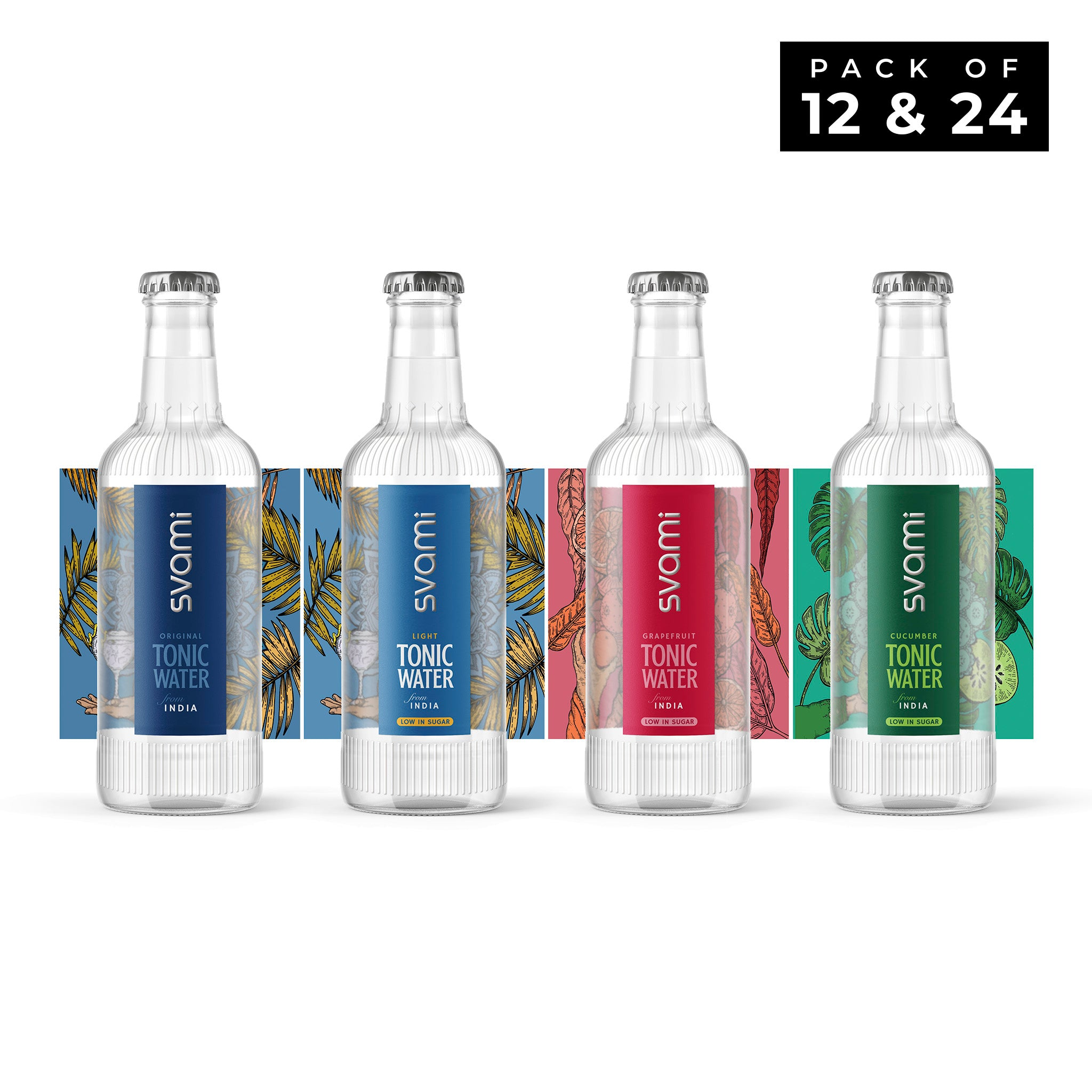 Svami Mixed Cased Tonic Water