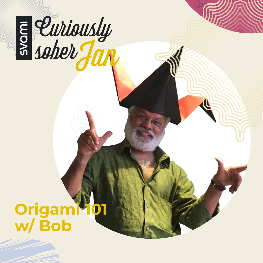 21 January | Origami 101 w/ Bob | Online Event