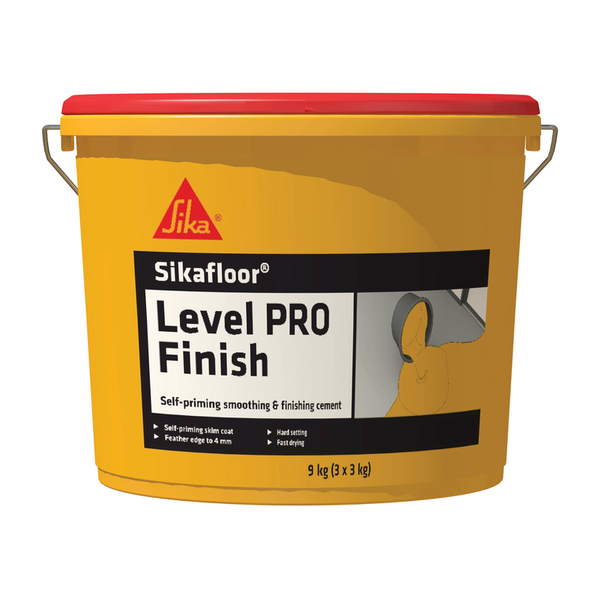 Sikafloor Level Pro Finish Cement | 9kg - Global Builders Warehouse