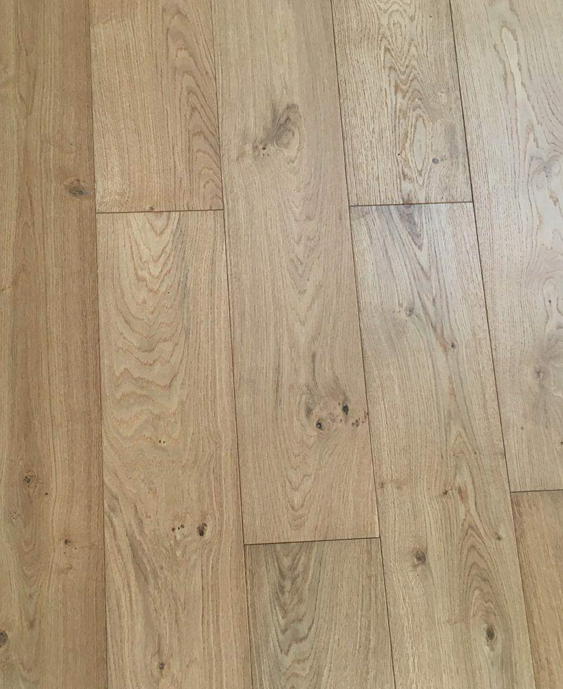 Engineered Hardwood Timber Flooring l  Natural Oak | 1900x190x14.3mm - Global Builders Warehouse