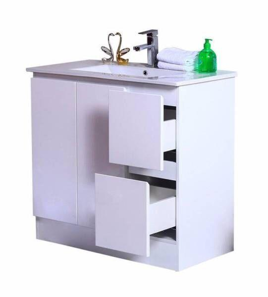 Freestanding Bathroom Vanity | 900x360x850mm - Global Builders Warehouse