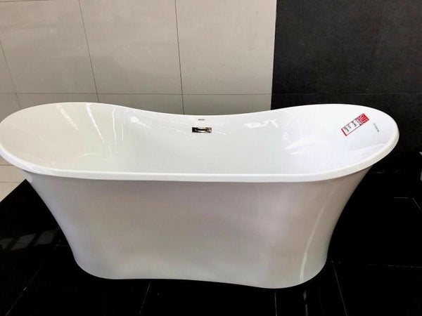 Huida 1515 Freestanding Bathtub | Thin Edge | 1800x800mm - Global Builders Warehouse