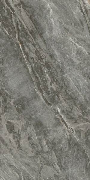 Sintered Stone | Large Format Slab Panel | 1200x2400x13.5mm | Zaha Grey - Global Builders Warehouse