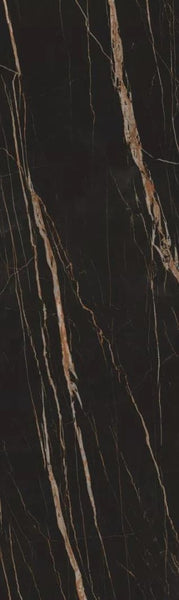 Sintered Stone | Large Format Slab Panel | 760x2550x13.5mm | Black Zekin - Global Builders Warehouse
