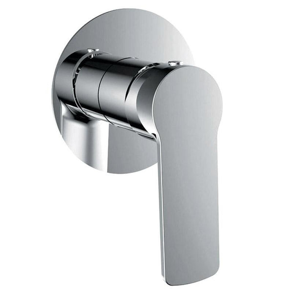 Global Rome Series Shower Mixer w flat plate | BTR8460 - Global Builders Warehouse