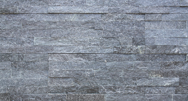 Black Quartzite Stack  Stone | 150x600mm - Global Builders Warehouse